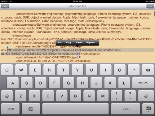 Copy video file location.