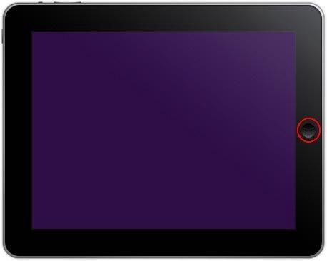 iPad Home Button.