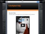 Short tutorial video.