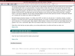 Safari on iPad – bottom ofpage.