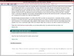 Safari on iPad - bottom of page.