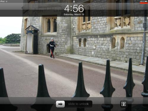 iPad has 89 percent power remaining.