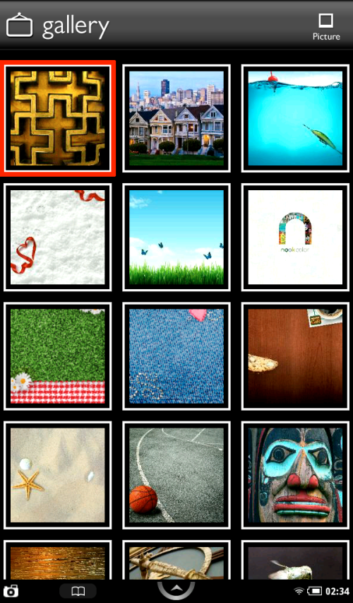 Select the first image.