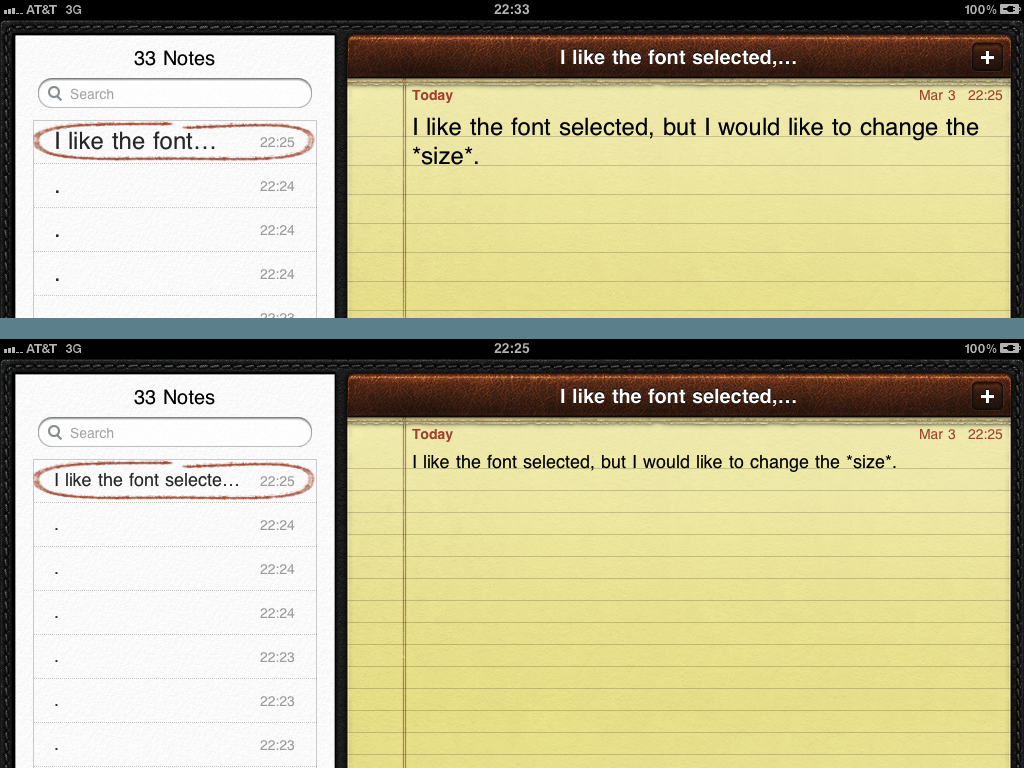 how to change text font on iphone email