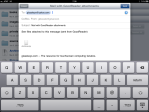 Composing email inGoodReader.