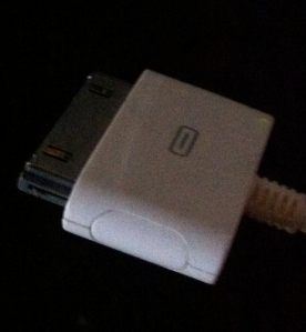 Third generation iPod USB cable.