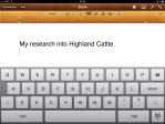 Starting new document on Highland cattle.