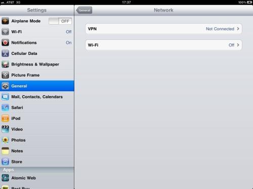 Select Wi-Fi.
