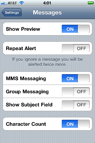 telstra how to stop repeating messages