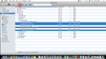 Finder window, files selected.