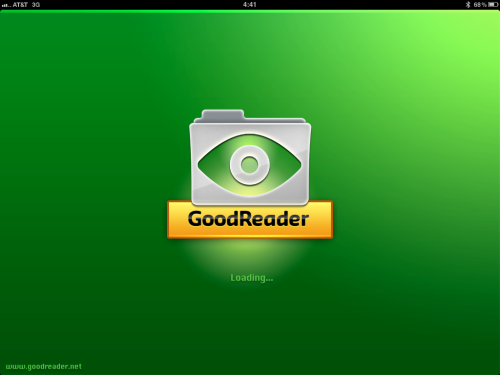 Technique #2, use GoodReader.