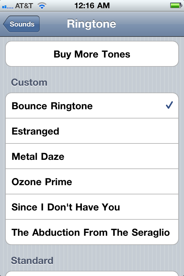iphone ringtone file type how to make your own ringtones for the iphone amp 2 15410