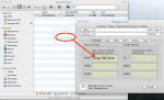 Drag DivX avi file to ffmpegX.