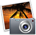 iPhoto application icon.