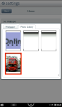 Select Photo Gallery tab, and select yourimage.