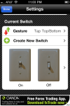 Customisable swtich.