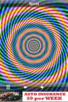 Hypnotic animated spirals.