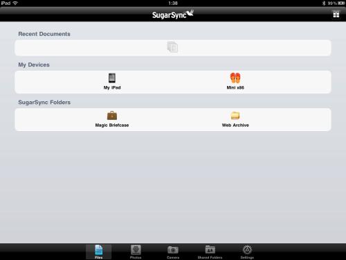 File menu.