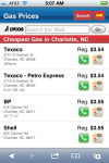Gas Prices web app.