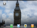 Shortcut icon on Home Screen (iPad).