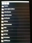Listing of emmc folder.