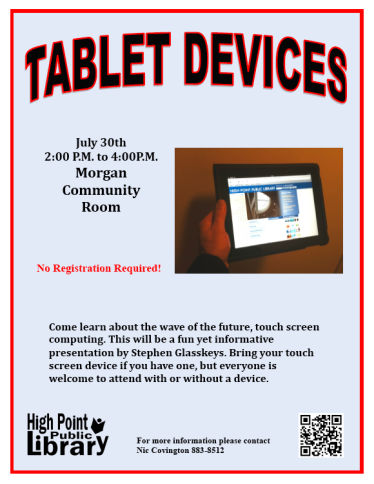 Tablet Devices