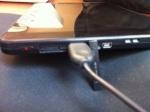 Keyboard plugged into Viewsonic G tab USB port