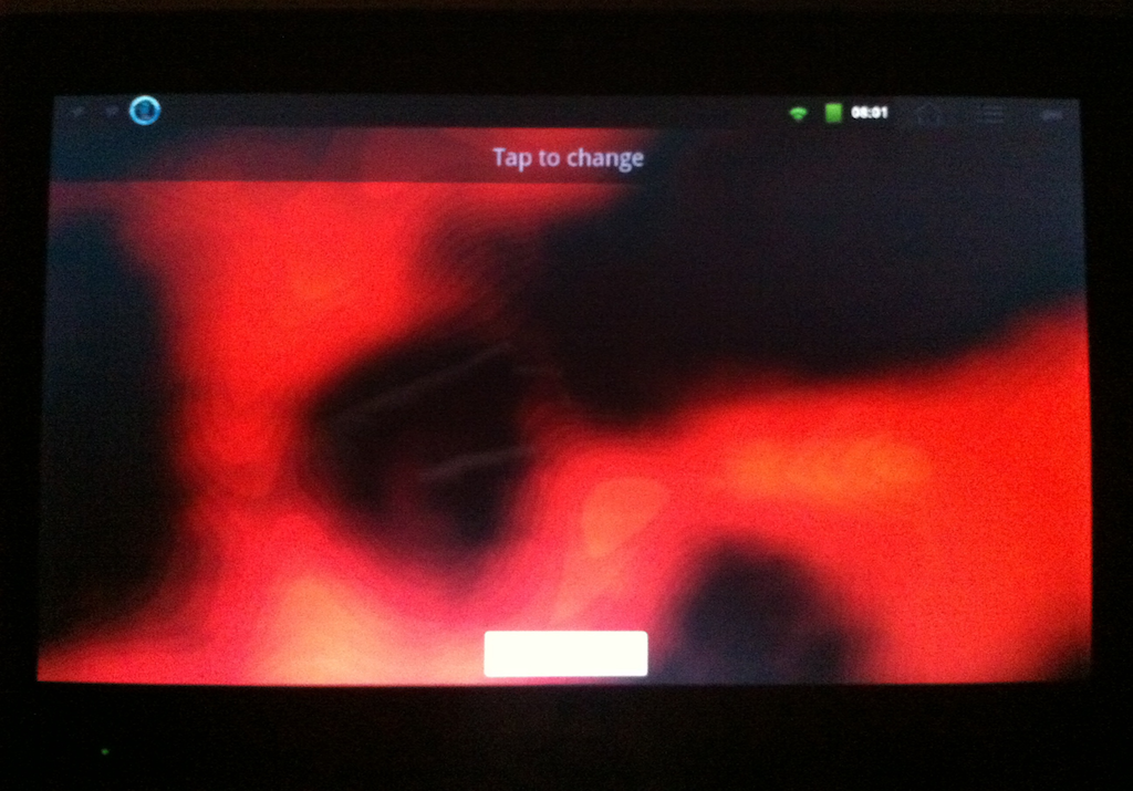 how to change background image in android