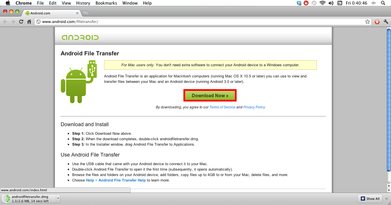 How to transfer files to and