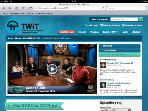 TWiT website.