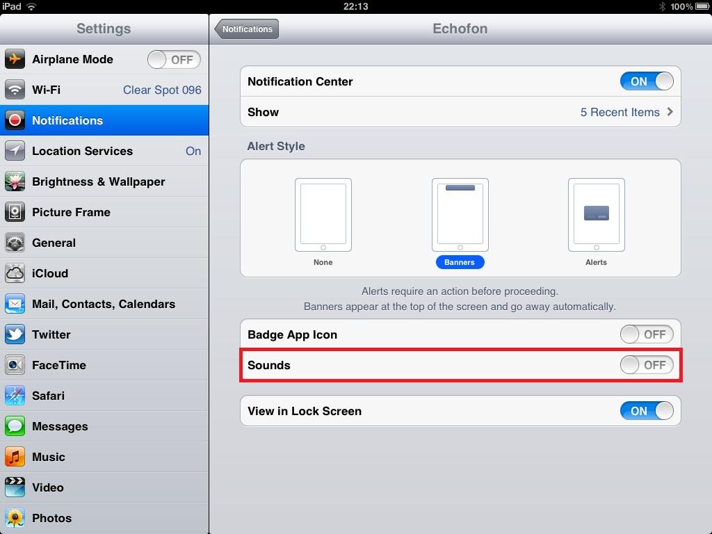 Change App Notification Sound Iphone