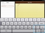 Thumb ridges on keyboard.