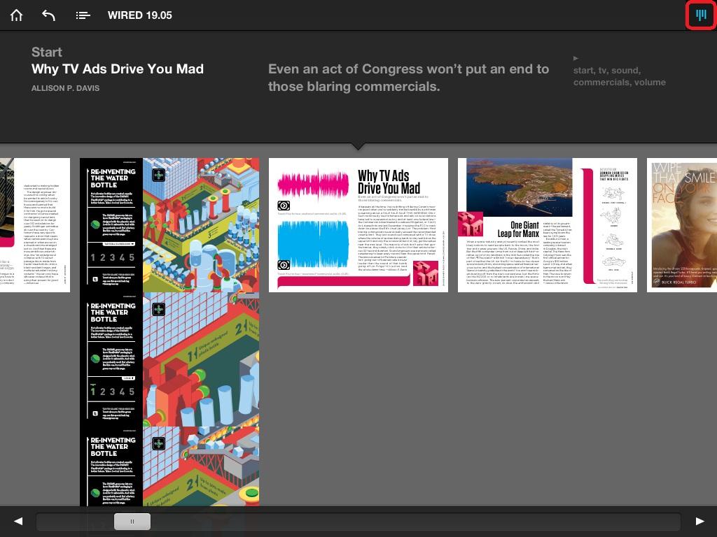 Navigate articles using top right menu button. | glasskeys.com