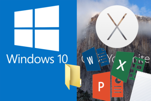 Share Windows 10 files with Mac OS X